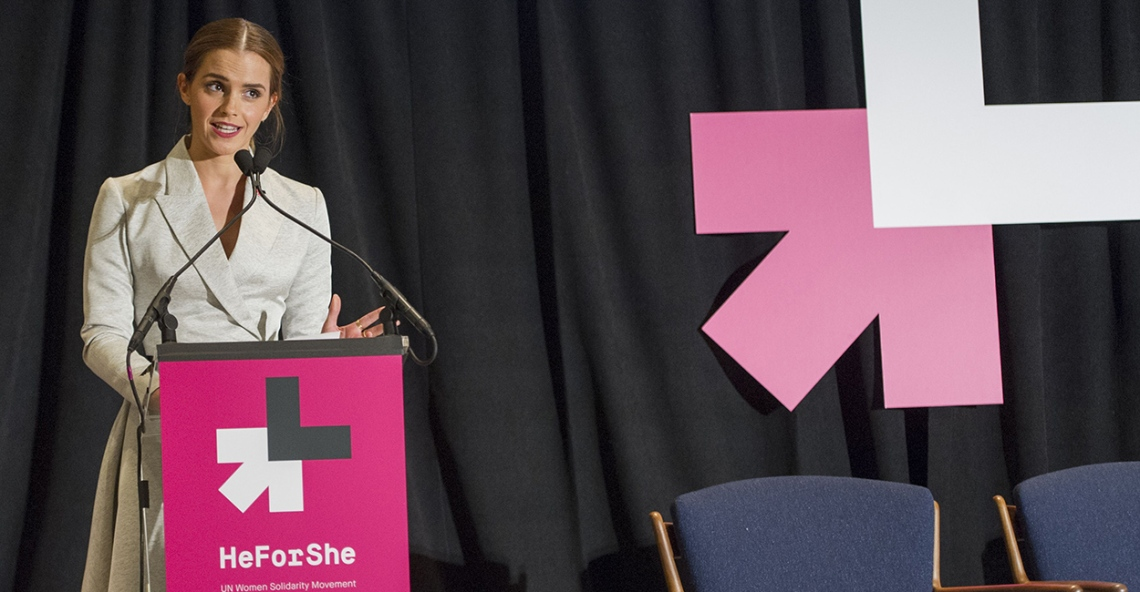 Emma Watson He for She event